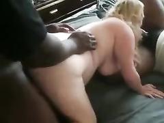 Blonde plump wife amateur cuckold interracial