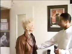 Blonde white milf and her secret muslim lover with a big dark cock are having time while her husband is out of town.
