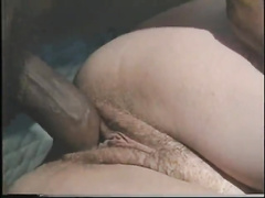 Hardcore interracial sex of a horny white wife with a brutal mandingo dick who nails her mouth and pussy very deep.
