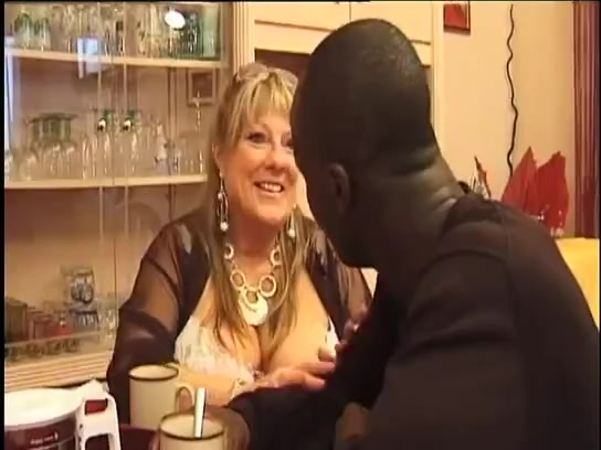 Two white mature cougars fuck with blacks