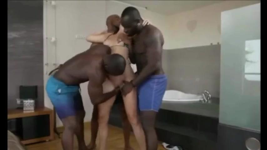 My german mom gets gangbanged by blacks