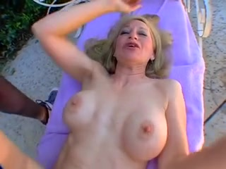 Mature cougar blonde wife gets fucked by bbc