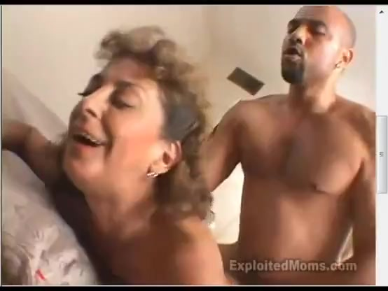 Mature mom and her stud fuck in front of camera. Hardcore passionate doggystyle sex with titsucking and kissing.