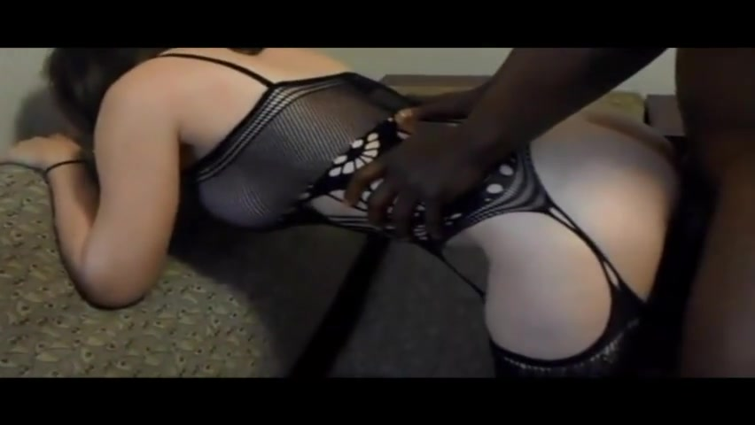 Big assed white lingerie wife bbc gangbang