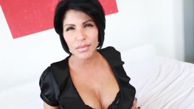 Hot brunette mom interracial bbc compilation