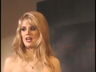Blonde gorgeous milf wife gets bbc in ass and cum on tits