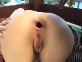 Young blonde wife gets her anal destroyed by black daddy bull