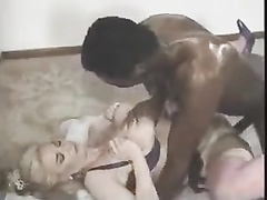 Retro blonde BBW hotwife fucked by BBC